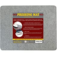 """Wool Pressing Mat - 17"""" x 13.5"""" Quilting Ironing Pad - Easy Press Wooly Felted Iron Board for Quilters by Savina"""