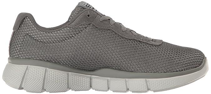 Skechers 51539, Herren Sneakers, Braun anthrazit Größe