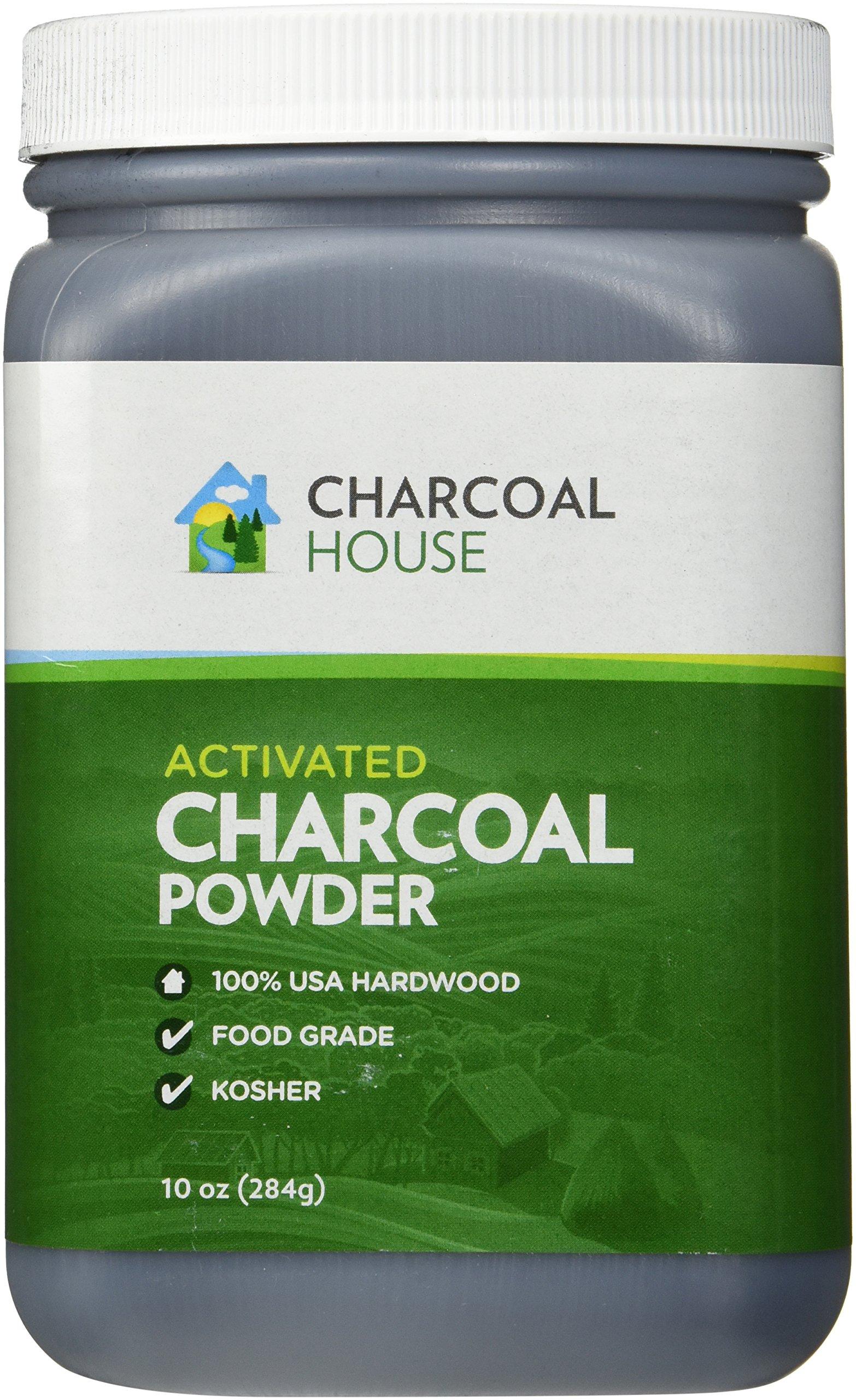 Hardwood Activated Charcoal Powder - Food Grade 10 oz.