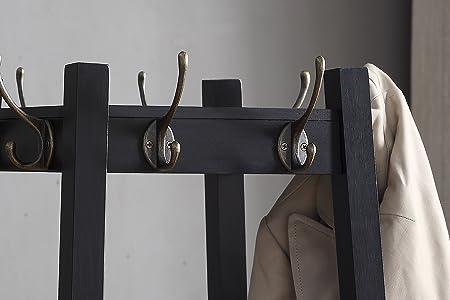 Amazon.com: Roundhill Furniture Perchero vassen con 3 ...