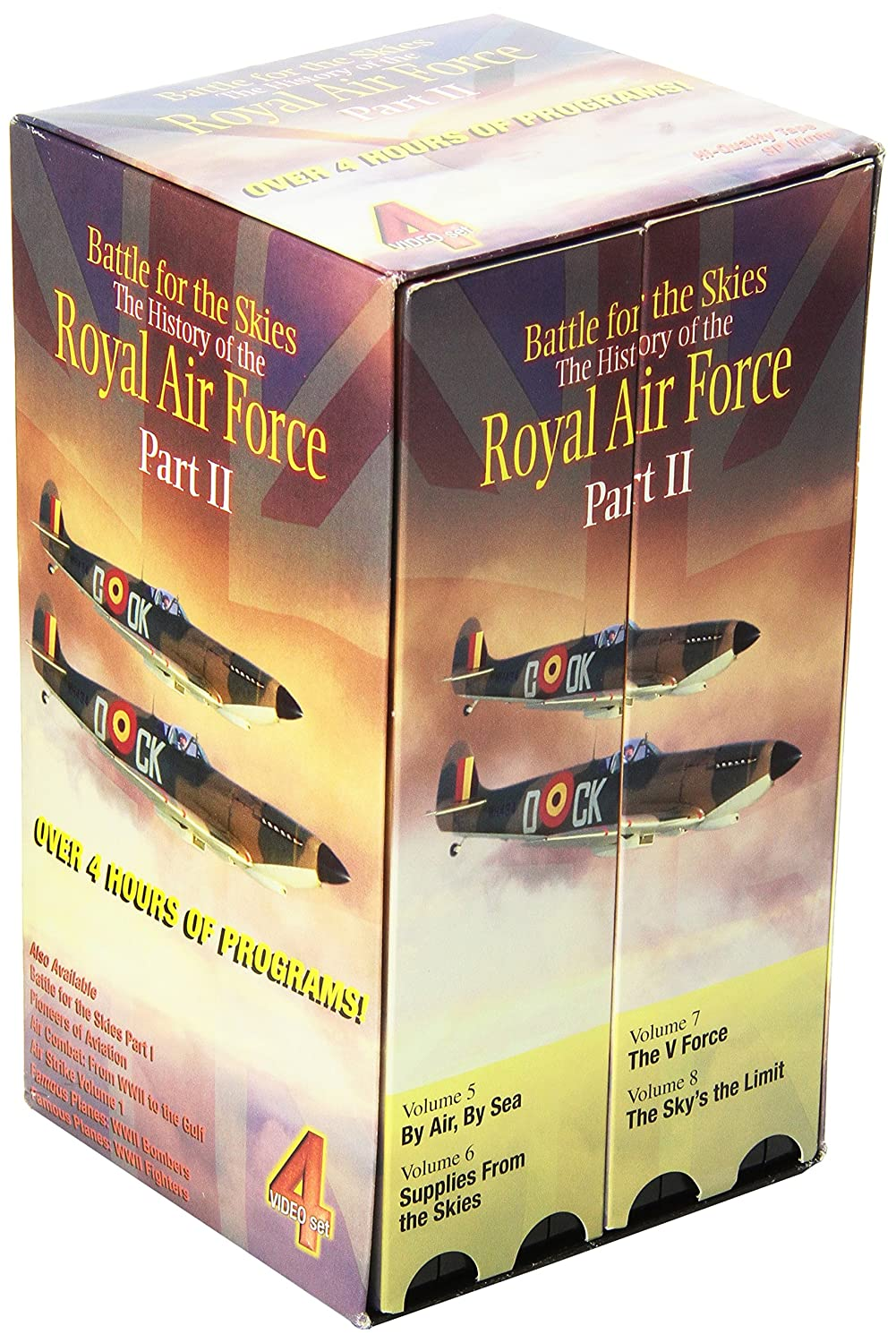 Battle for the Skies: History of Royal Air Force Part II VHS