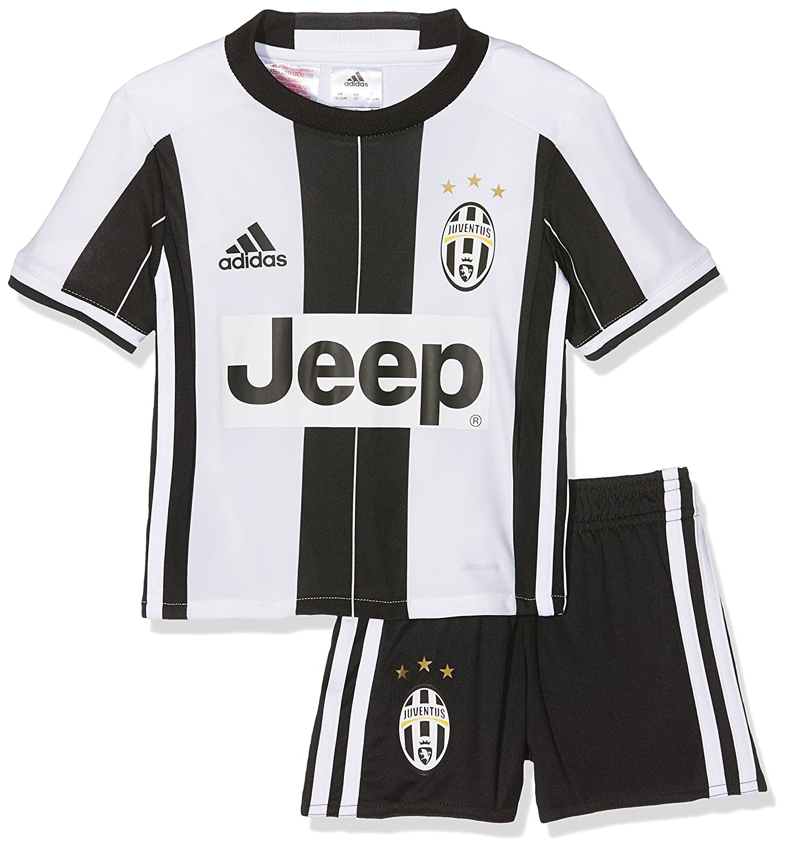 huge discount bd6ce 23677 2016-2017 Juventus Adidas Home Mini Kit, Football - Amazon ...