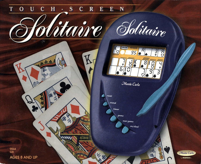 偉大な [Radica Games]Radica Games Monte Carlo by Radica: Klondike & Vegas Touch Screen Solitaire Model 9844 4496985 [並行輸入品] B005F7FY9A, 中華菜館同發 通販部 51f7c263