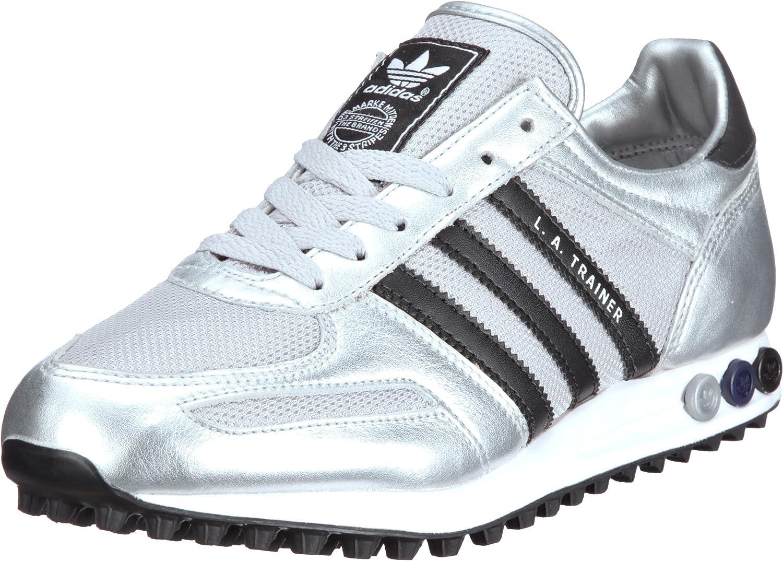 adidas la trainer nere e argento