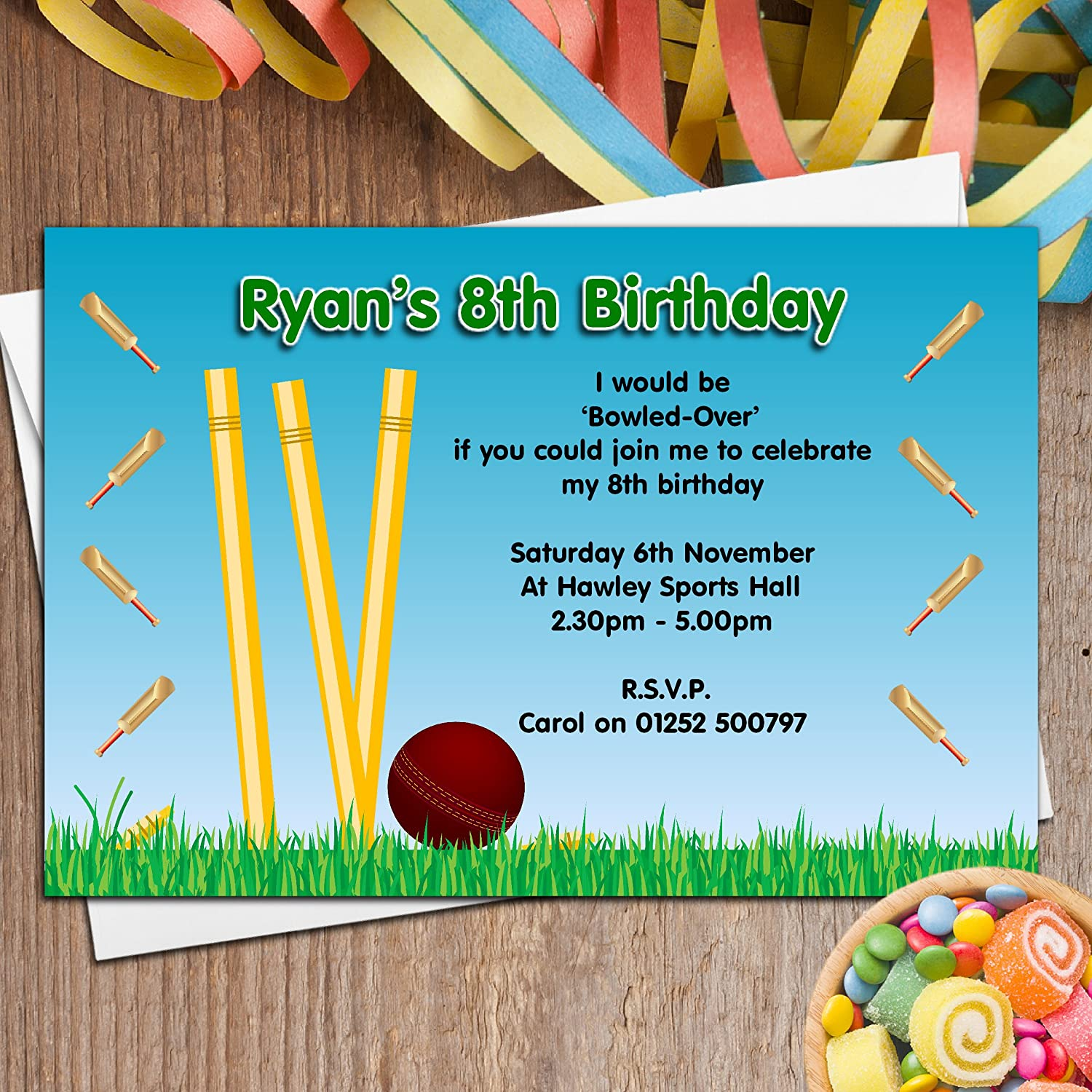 Contemporary Personalised Party Invitations Uk Gallery - Invitations ...