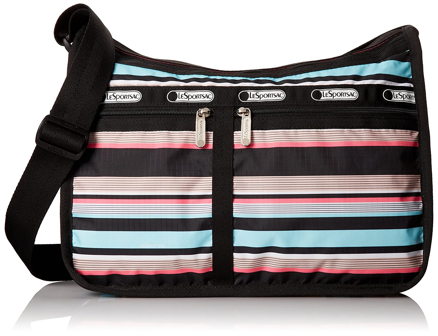 LeSportsac Classic Deluxe Everyday Bag, Black 7507