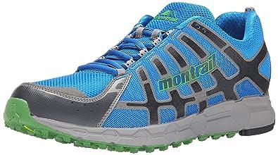 Montrail Bajada II Hyper Blue/Clean Green D - Medium Men's Running Shoes 8465587