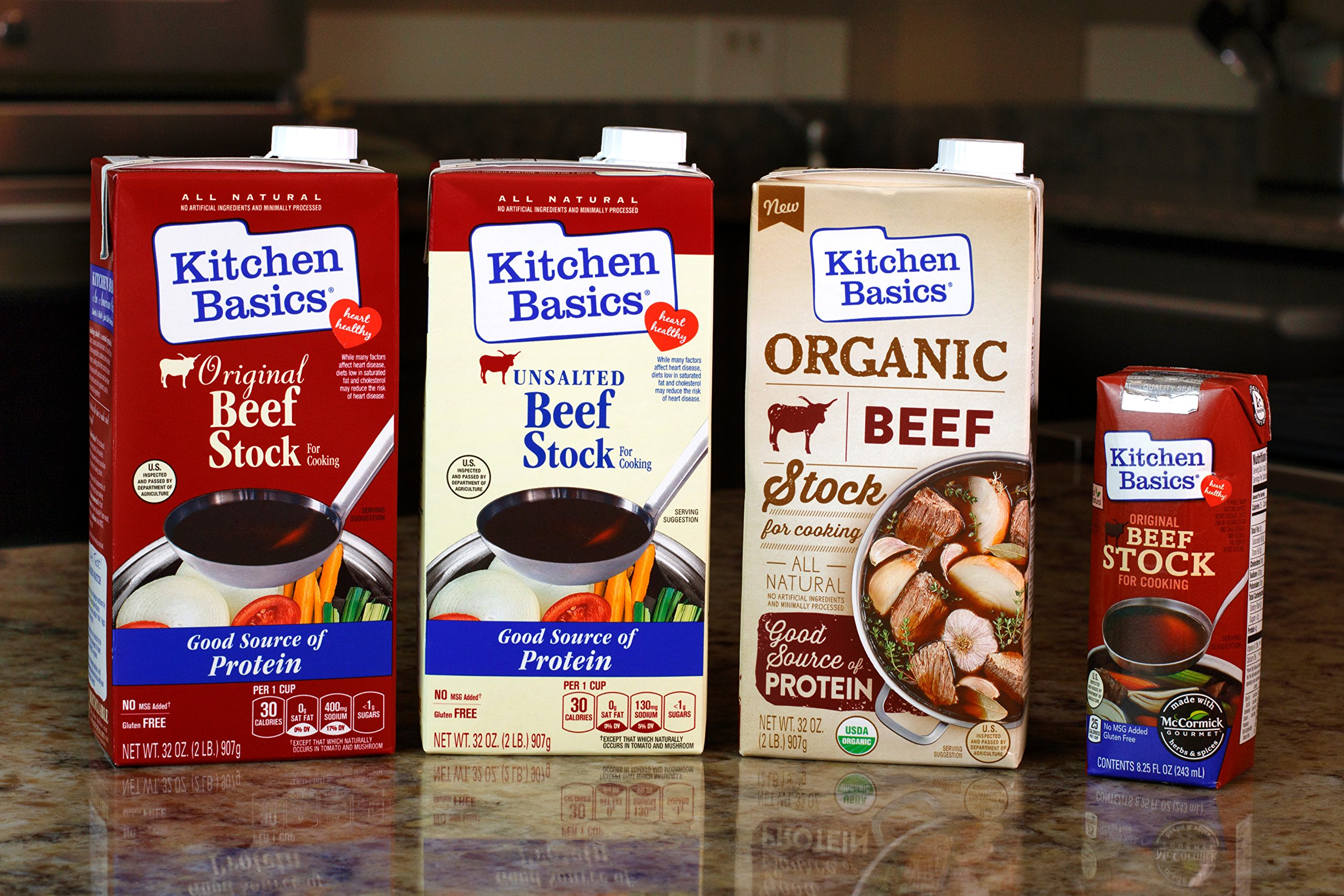 Kitchen Basics All Natural Unsalted Beef Stock, 32 fl oz by Kitchen Basics (Image #11)