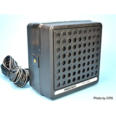4 Inch 10 Watt External CB Radio Speaker - Workman 711-SX: Sports & Outdoors