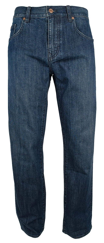 Hugo Boss Mens C-Kansas Stretch Comfort Fit Denim Jeans