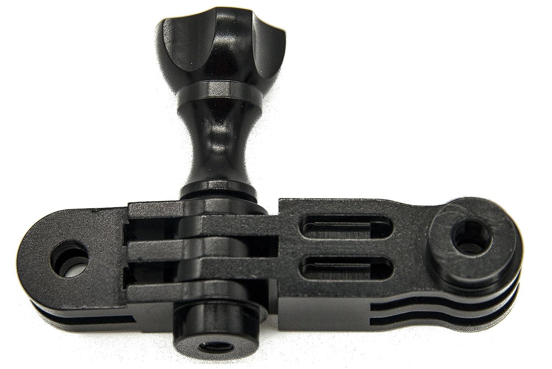 Yi c/ámaras PROtastic verde aluminio 3/way Pivot Arm para GoPro Hero SJCAM