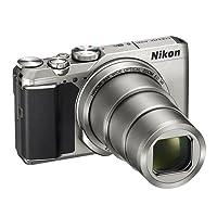 Nikon Coolpix A900 Fotocamera Digitale Compatta, 20,3 Megapixel, Zoom 35X, VR, Filmati 4K UHD, Bluetooth, Wi-Fi, Argento [Nital Card: 4 Anni di Garanzia]