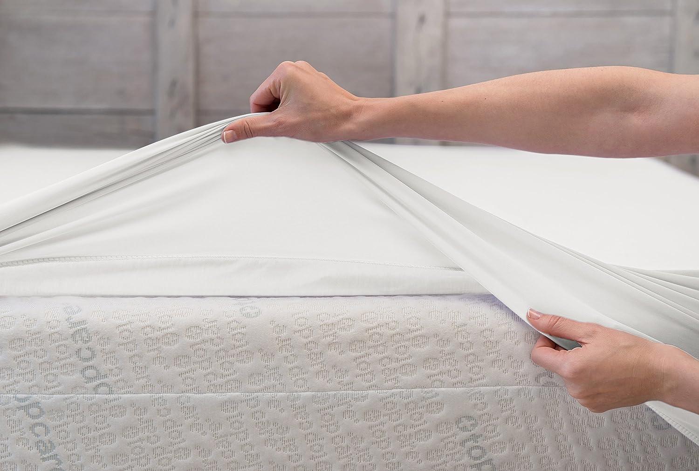 BSensible Tencel Sábana bajera protectora impermeable y transpirable Blanco (Blanco) 150 x 200: Amazon.es: Hogar