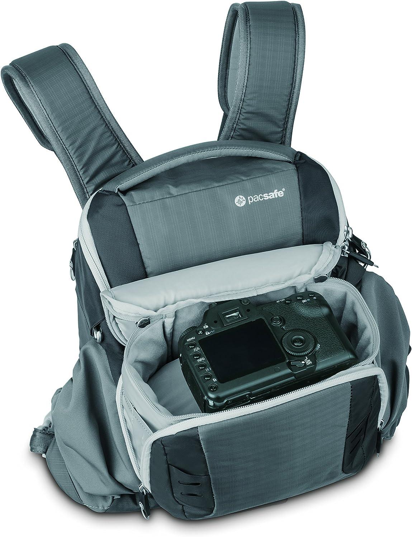 Pacsafe V11 Storm Grau Camsafe Diebstahlschutz Kamera Kamera
