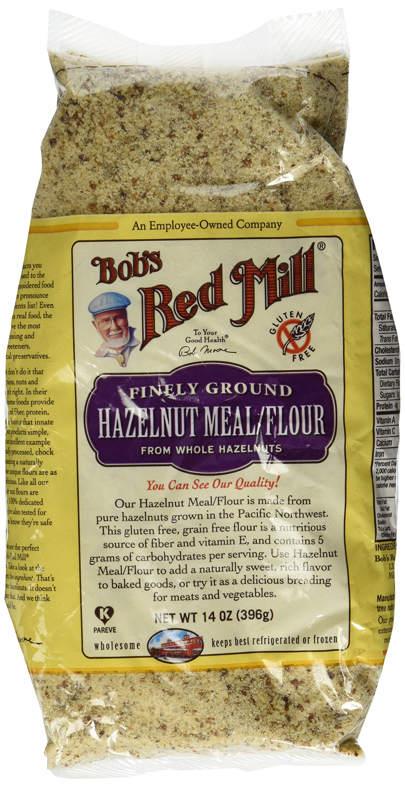 Bob's Red Mill All Natural Hazelnut Meal/Flour - 14 oz