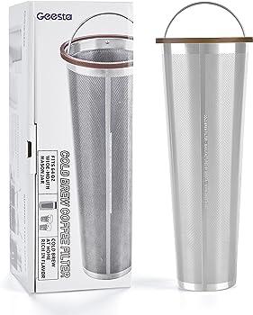 Ultra-Fine Mesh Cold Brew Coffee Filter