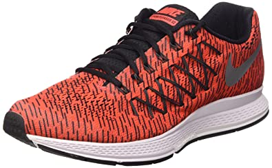 best sneakers 09a60 c35aa Image Unavailable. Image not available for. Color  Nike Mens Air Zoom  Pegasus 32 Print Running Shoe (Bright Crimson) ...