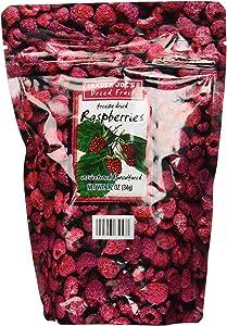 Trader Joe's Freeze Dried Raspberries Unsweetened & Unsulfured 1.2oz
