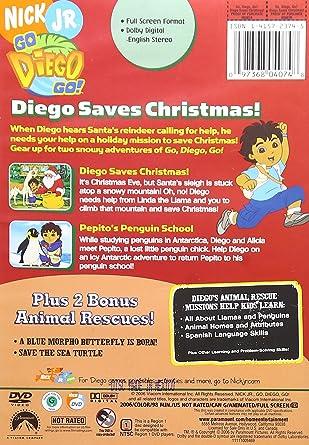 Go Diego Go!: Diego Saves Christmas [Import]: Amazon.ca: DVD: DVD