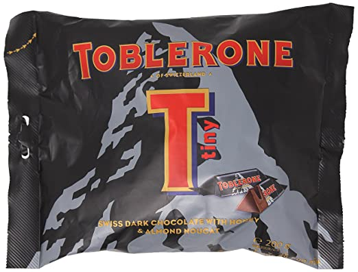 Toblerone Mini Dark Chocolate Share Bag 200g