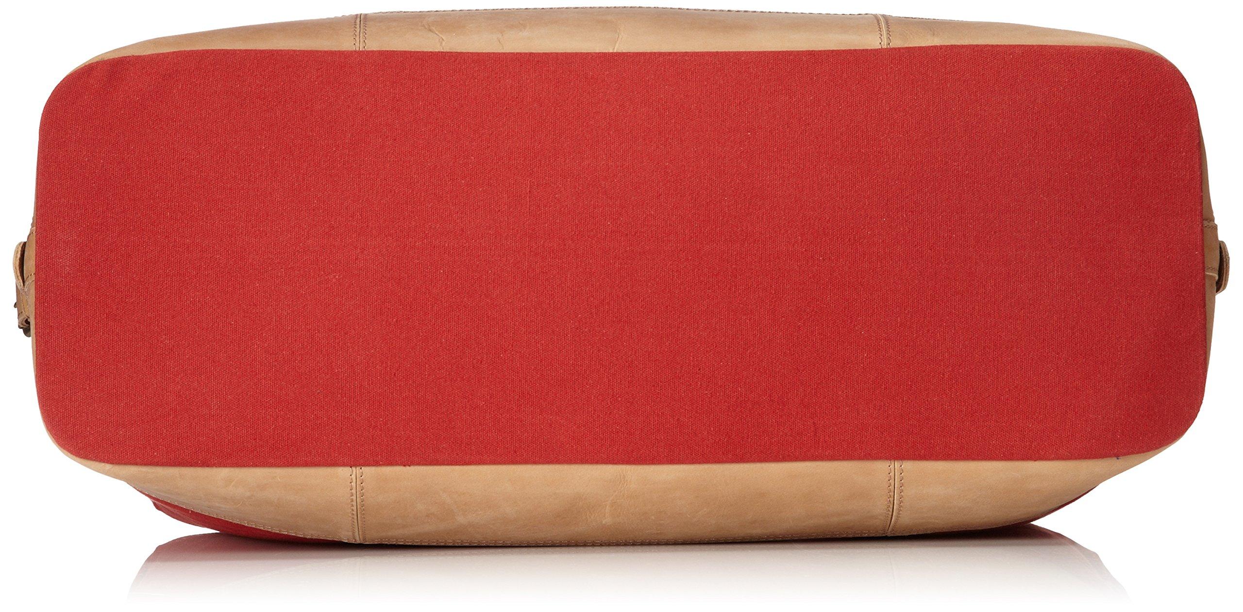 Original Penguin Men's Canvas Weekend Bag Duffel Bag, Pompeian Red, One Size by Original Penguin (Image #4)