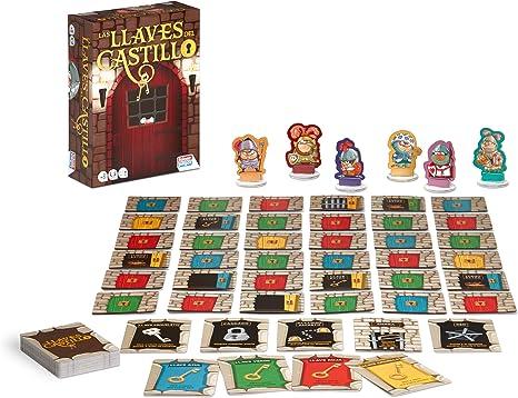 Falomir Llaves del Castillo. Juego de Mesa. Cartas, Multicolor (1): Amazon.es: Juguetes y juegos