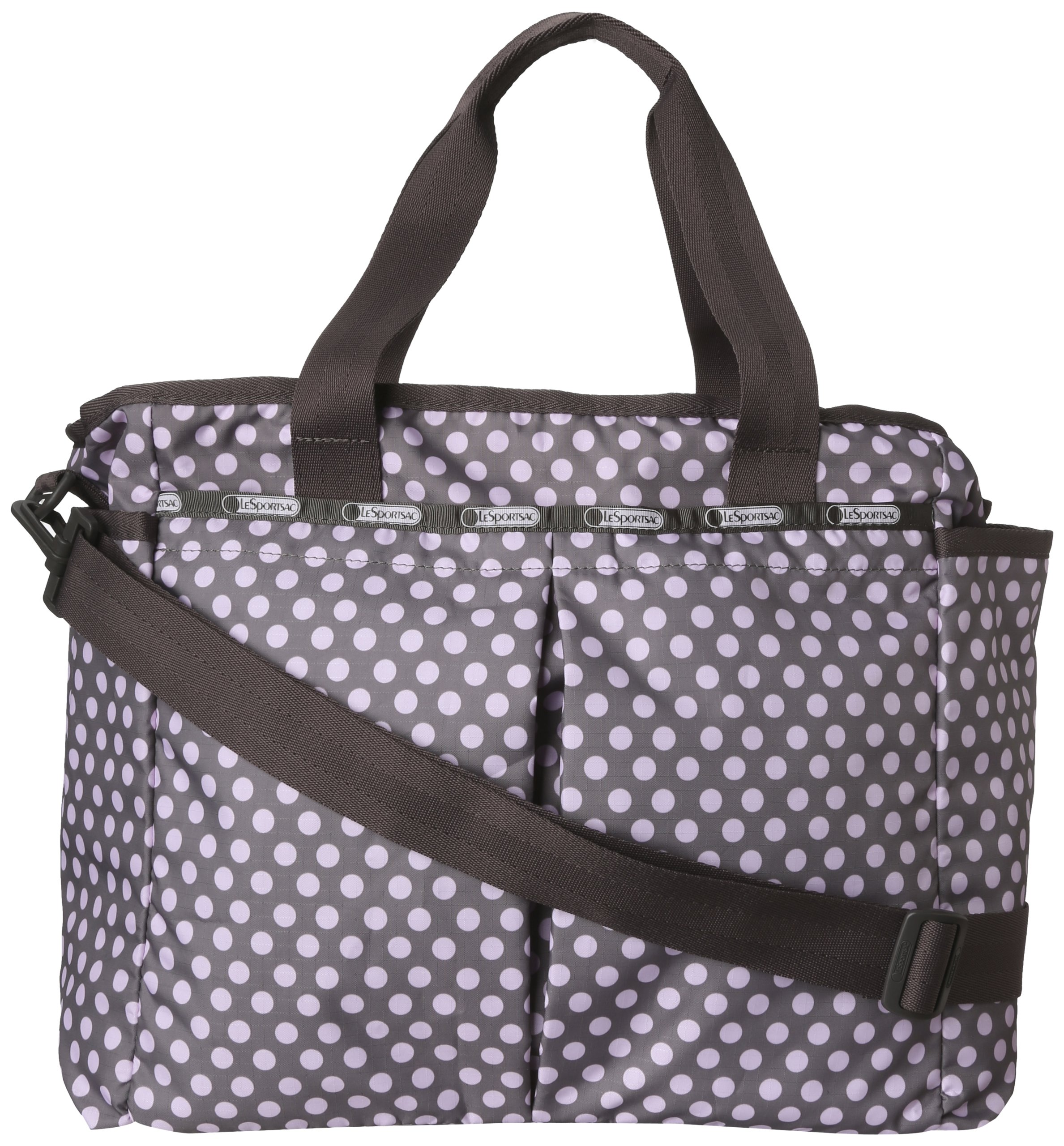 LeSportsac Ryan Diaper Bag,Pinkie Dot,One Size