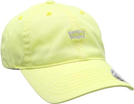 Levis Mini Batwing Dad Hat (Self Closure) Gorra, Amarillo (Pastel ...