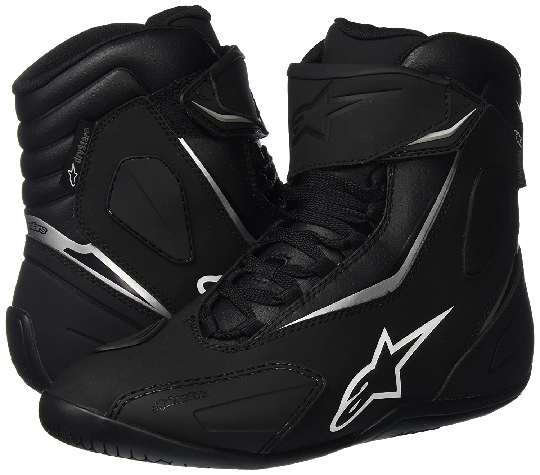 8 /Black//Fluorescent Yellow Alpinestars FastBack 2/Drystar /® Motorcycle Waterproof Shoes/