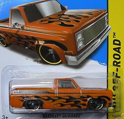 3654f78bf0 Amazon.com: Hot Wheels 2013 HW Off-Road '83 Chevy Silverado 166/250 ...