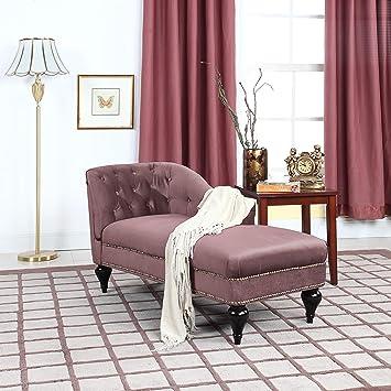 Divano Roma Furniture Moderno y Elegante sofá de Terciopelo ...