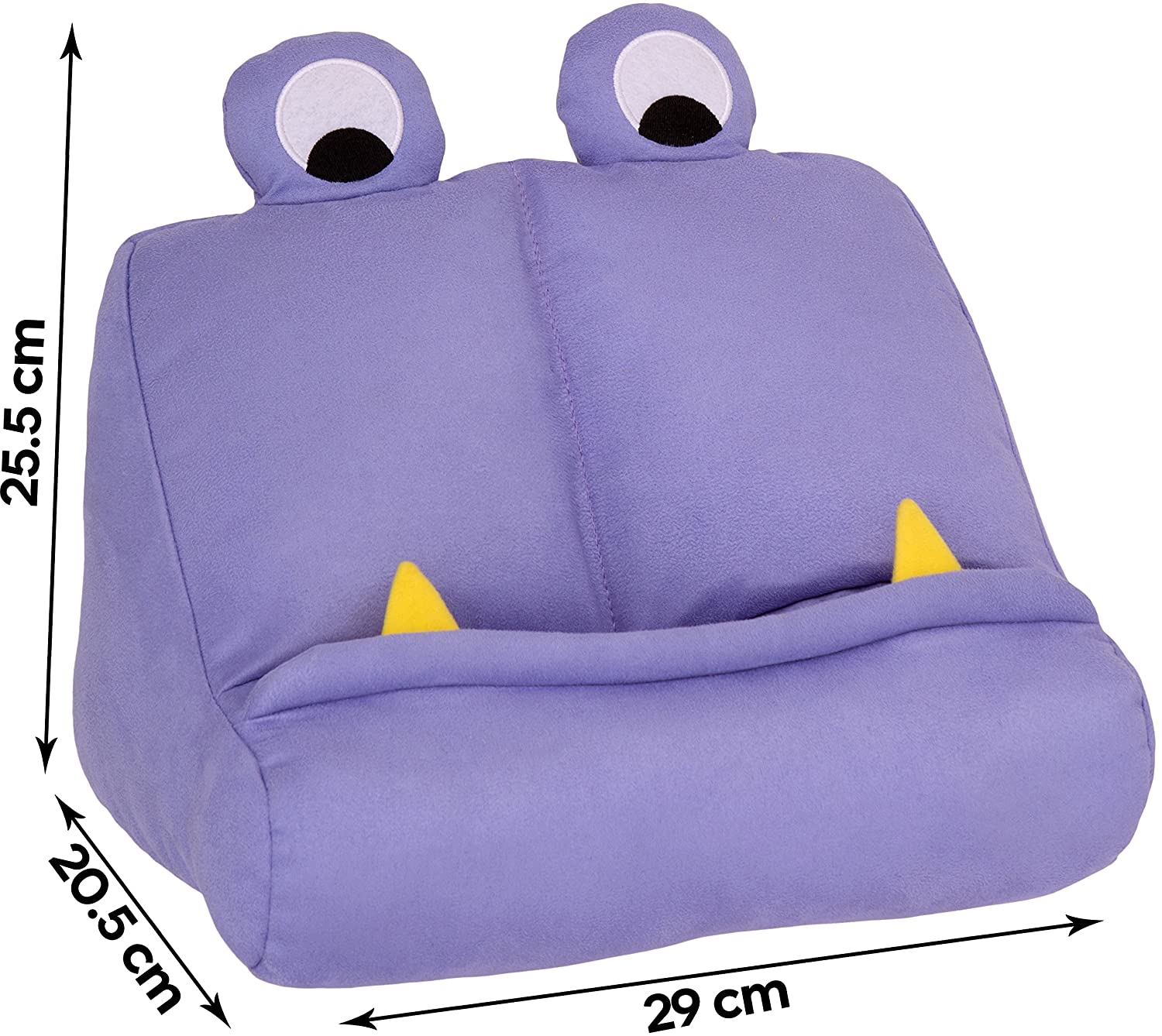 Fantastic Bookmonster Book Ipad Tablet Holder Novelty Ereader Rest Sofa Pillow Stand Gift Idea Purple Ocoug Best Dining Table And Chair Ideas Images Ocougorg