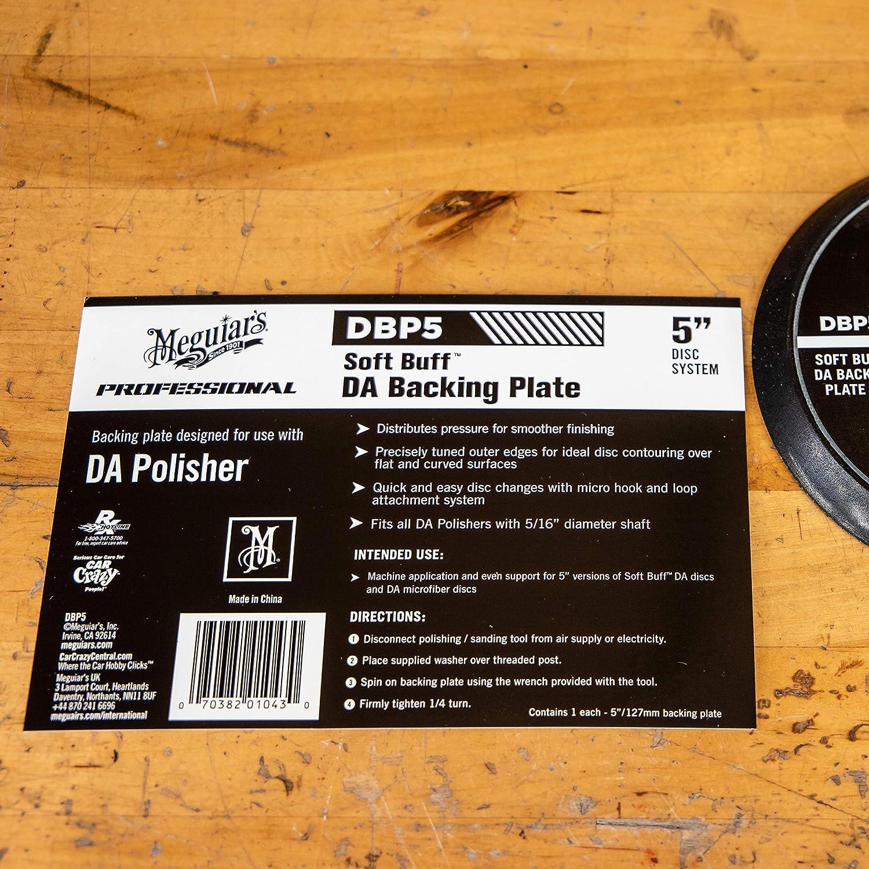 Polishing Machine Meguiar/'s Car Care 5 Inch Backing Plate For DA CPolisher