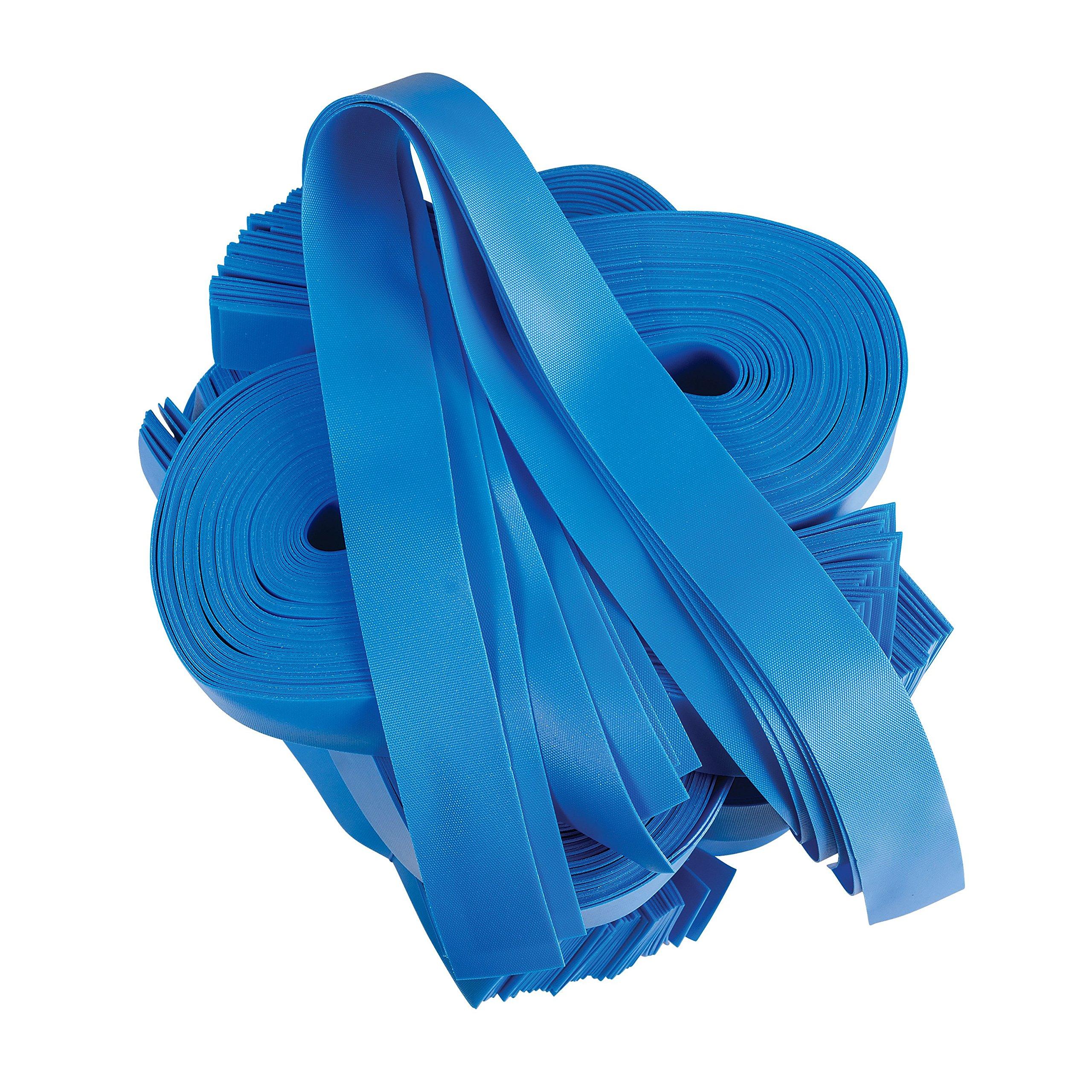 MABIS DMI Textured Elastic Tourniquets, 1 x 18 Inches, Blue, 250-Count