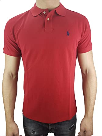 Ralph Lauren Red Pony Polo Men Fashion