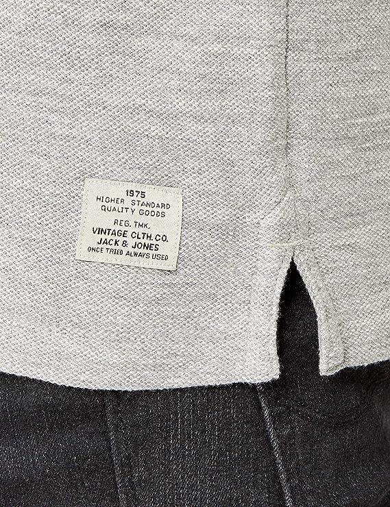 Jack & Jones Jjvsebastian LS Granddad Noos Camisa para Hombre: Amazon.es: Ropa y accesorios