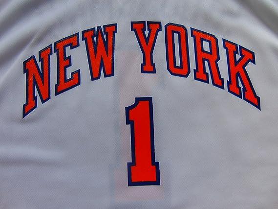 Adidas New York Knicks de la NBA Baloncesto Jersey - Stoudemire # 1 Juventud X Grande/Mens pequeño: Amazon.es: Deportes y aire libre