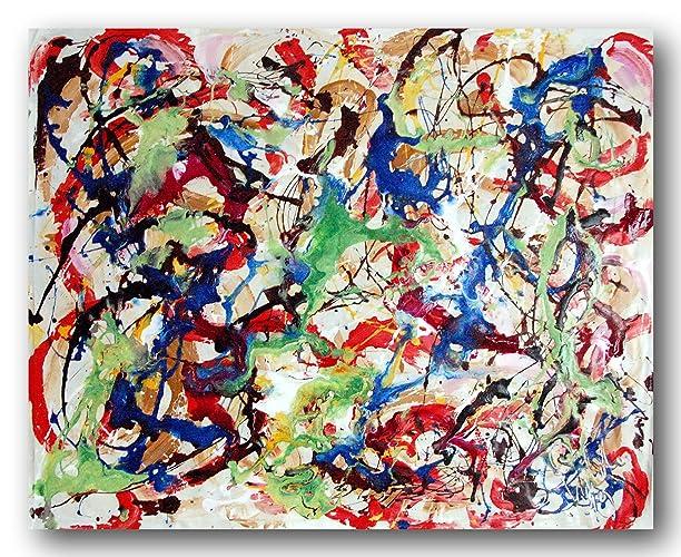 Pittura a olio su tela professionale per soggiorno divano ...