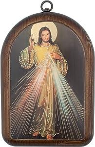 Divine Mercy Wooden Icon Plaque