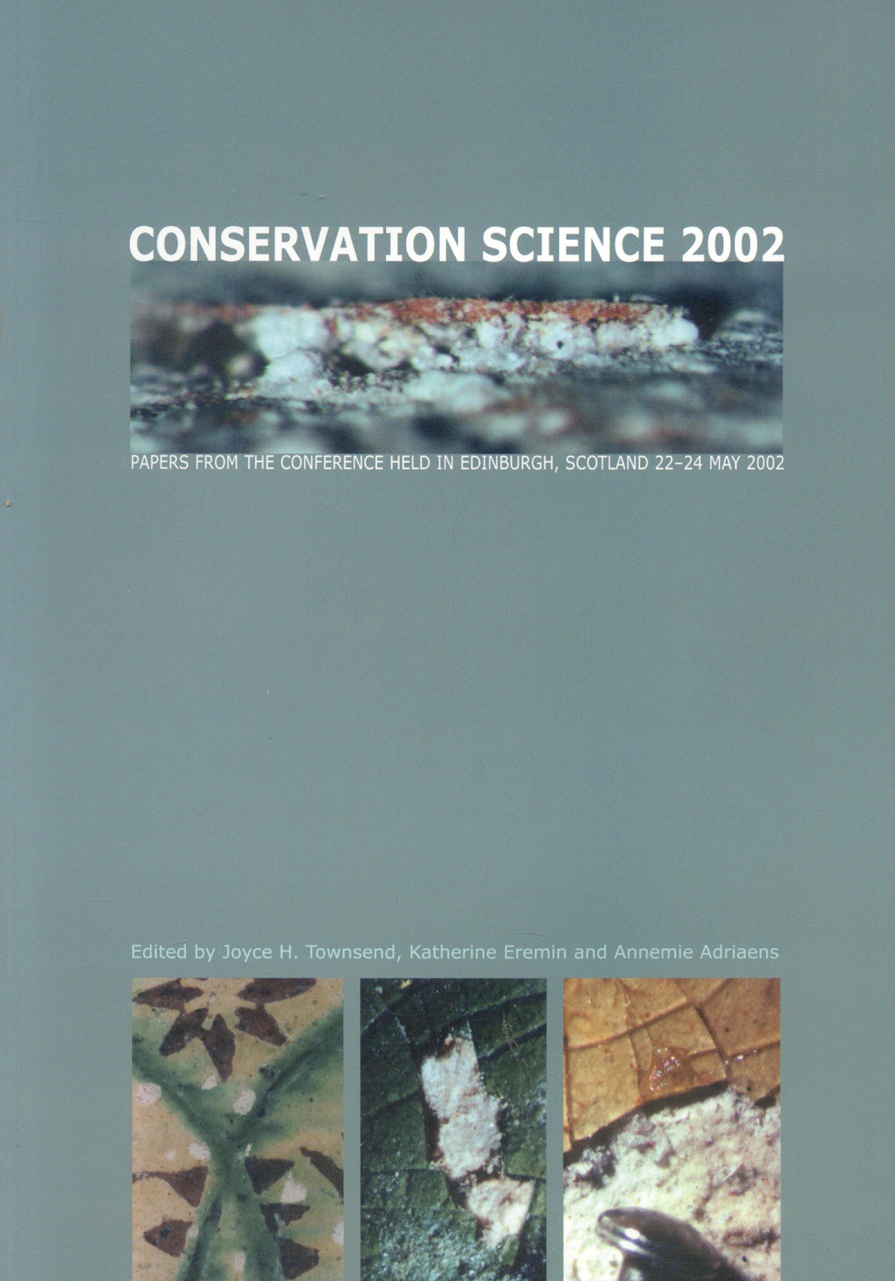 Conservation Science 2002 pdf