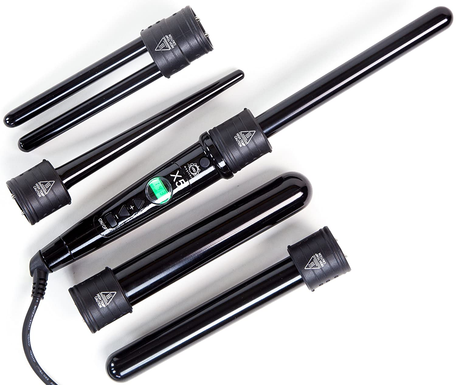 H2D X5 5-in-1 Magicurl Five Piece Curling Wand