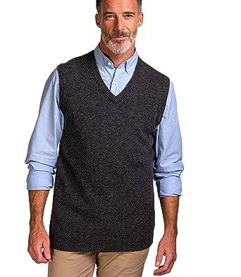 046116644a42 Wool Overs Lambswool Pullunder - Herren (Lambswool) - L4  Amazon.de   Bekleidung