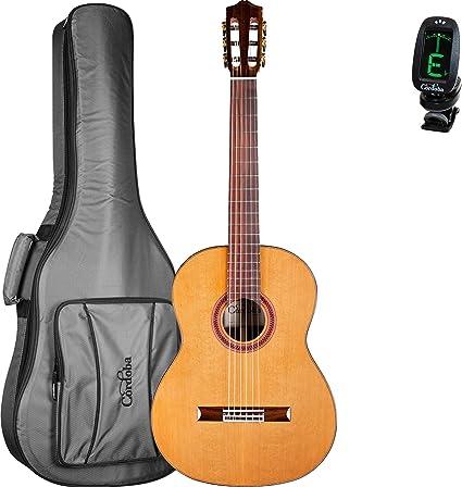 Cordoba C7 CD guitarra clásica funda Bundle con una cuerda de ...
