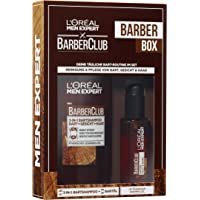 L'Oreal Men Expert Barber Box, mit Barber Club 3-in-1 Bartshampoo (200 ml) und Bartöl (30 ml)