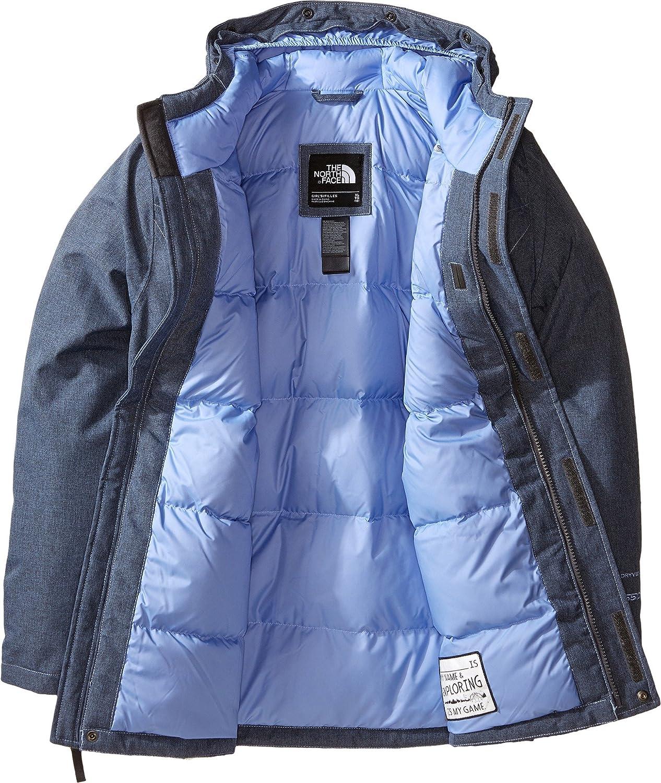 The North Face Greenland - Parka para niña (Talla Grande) - Azul - X-Large: Amazon.es: Ropa y accesorios