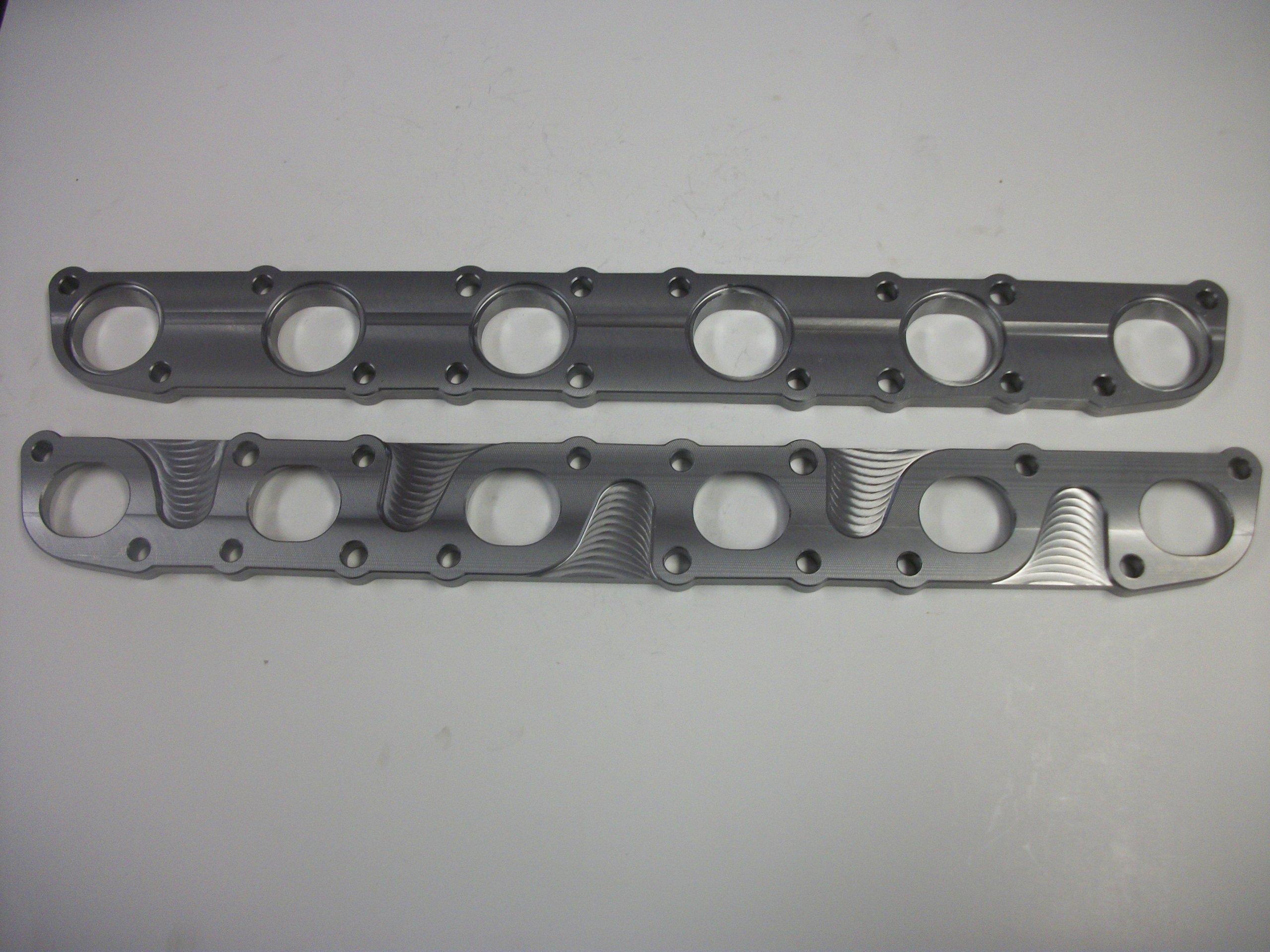 FID-Turbo Nissan RB26DETT Exhaust Head Flange - Mild Steel