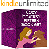 Cozy Mystery 15 Book Set