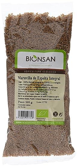 Bionsan Sopa Maravilla Integral de Espelta - 6 Paquetes de 500 gr - Total: 3000
