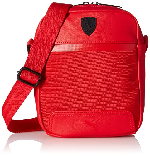 50d911e6e2 Puma Unisex Ferrari LS Portable Red Messanger Bag  Amazon.in  Shoes    Handbags