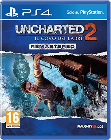 Sony Uncharted 2: Among Thieves Remastered Básico PlayStation 4 ...